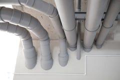 Versorgungs-Wasser-und Abwasserrohr-System Lizenzfreies Stockbild