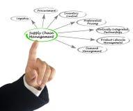 Versorgungskette-Management Lizenzfreies Stockbild