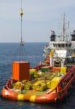 Versorgungsschiff stockfotografie