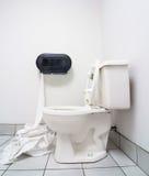 Verspil geen toiletpapier Stock Afbeeldingen