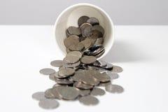 Verspild geld Royalty-vrije Stock Afbeelding
