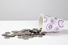 Verspild geld Royalty-vrije Stock Fotografie