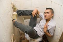 Verspilde Aziatische punker Stock Foto