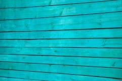 Versplinter het schild van parallelle horizontale oude houten die raad in groen wordt geschilderd royalty-vrije stock foto