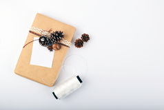 Verspotten Sie herauf Gegenstände neues Jahr ` s Stimmung stockfoto