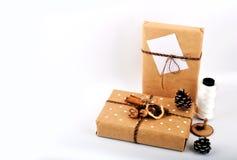 Verspotten Sie herauf Gegenstände neues Jahr ` s Stimmung Lizenzfreies Stockbild