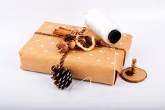 Verspotten Sie herauf Gegenstände neues Jahr ` s Stimmung stockfotografie