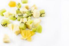Verspreid fruit stock afbeeldingen