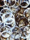 Verspreide cirkels Royalty-vrije Stock Foto's