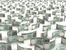 Verspreide Indische Roepie Royalty-vrije Stock Fotografie
