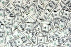 Verspreide munt royalty-vrije stock afbeelding