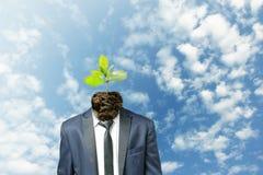 Verstärken Sie das Bewusstsein des Umweltschutzes stockfoto