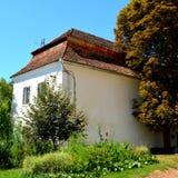 Verstärkte mittelalterliche sächsische Kirche im Dorf Cincu, Grossschenk, Siebenbürgen, Rumänien Lizenzfreie Stockfotos
