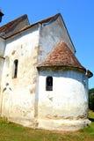 Verstärkte mittelalterliche sächsische Kirche in Toarcla-Tartlau, Siebenbürgen, Rumänien Lizenzfreie Stockfotografie