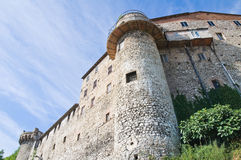 Verstärkte Wände. Narni. Umbrien. Italien. lizenzfreies stockfoto