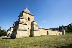 Verstärktes Kloster in Bucovina Lizenzfreie Stockfotografie
