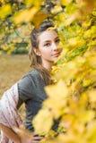 Versteckende Herbstschönheit Stockfotografie