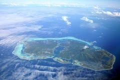 Versteckte Insel Stockfotografie