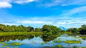 Versteckte Lagune Stockbild