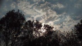 Versteckte Sonne stockfotos