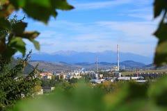 Versteckte Stadt in der Natur Lizenzfreie Stockfotos