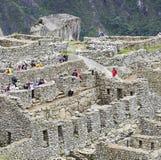 Versteckte Stadt Machu Picchu in Peru lizenzfreie stockbilder