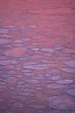 Versteckte Valentinsgruß-Innere im eiskalten Ozean Lizenzfreies Stockfoto