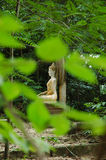 Versteckter Buddha Stockfoto