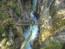 Versteckter Fluss Lizenzfreies Stockfoto