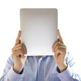 Versteckter Mann. Lizenzfreies Stockfoto