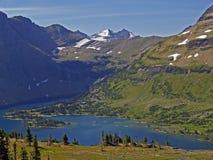 Versteckter See von oben Lizenzfreies Stockbild
