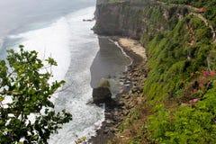 Versteckter Strand stockbild