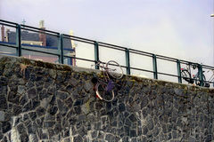 Verstecktes Fahrrad Lizenzfreies Stockbild