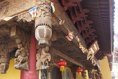 Verstecktes Shanghai: Jade Buddha Temple, ein sehr geistiger Platz Lizenzfreie Stockbilder