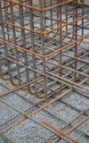 Versterkend staal stock foto