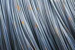 Versterkende staalstaaf Royalty-vrije Stock Foto's