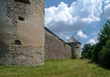 Versterkt klooster in Bzovík royalty-vrije stock fotografie