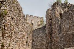 Versterkt Manasija-Klooster royalty-vrije stock foto