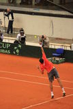 Versu Andreas Seppi de portion de Marin Cilic Photos libres de droits