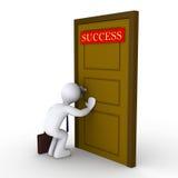 Versuchen, Erfolg zu finden Lizenzfreie Stockfotos