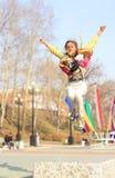 Versuchen Sie zu fliegen Lizenzfreies Stockfoto