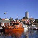 Versuchsboot Landsort Stockbild
