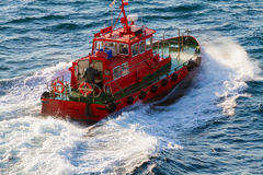 Versuchsbootsabreise Lizenzfreies Stockbild