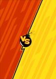 Versus elementu szablon 1 ilustracji