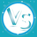 Versus Logo. VS Vector Letters Illustration. Competition Icon. Fight Symbol. Stock Photo