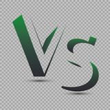 Versus Logo. VS Vector Letters Illustration. Competition Icon. Fight Symbol. Royalty Free Stock Photos
