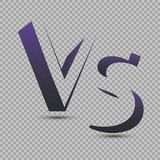 Versus Logo. VS Vector Letters Illustration. Competition Icon. Fight Symbol. Royalty Free Stock Image