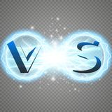 Versus Logo. VS Vector Letters Illustration. Competition Icon. Fight Symbol. Royalty Free Stock Images