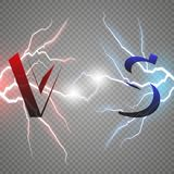 Versus Logo. VS Vector Letters Illustration. Competition Icon. Fight Symbol. Royalty Free Stock Photo