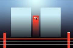 Versus screen. Background for battle or competition. Versus screen. Background for battle or competition stock illustration